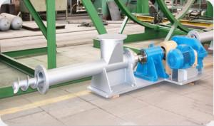 Контователь контейнеров и шнековый питатель для предприятий топливного цикла АЭС2